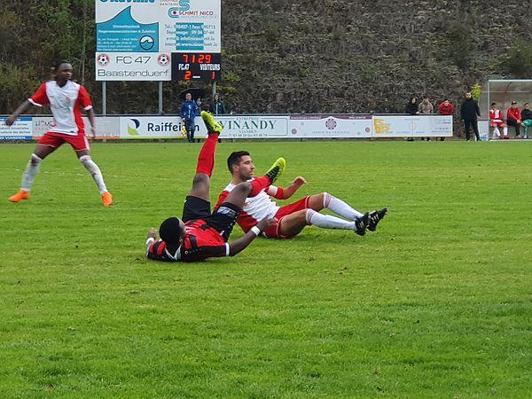 5:1-Victoire an der Coupe de Luxembourg - Mendes mat Hattrick