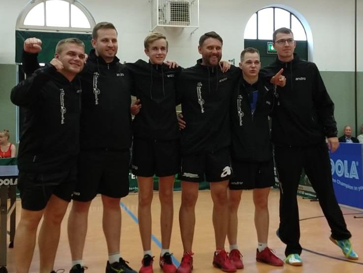 Punktspieltage 07.-09.09.2019 / 1. Mannschaft mit Punktgewinn nach Unentschieden in RL
