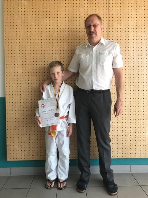 Starke Konkurrenz, viel Erfahrung und die Bronze-Medaille für Adrien Devitt