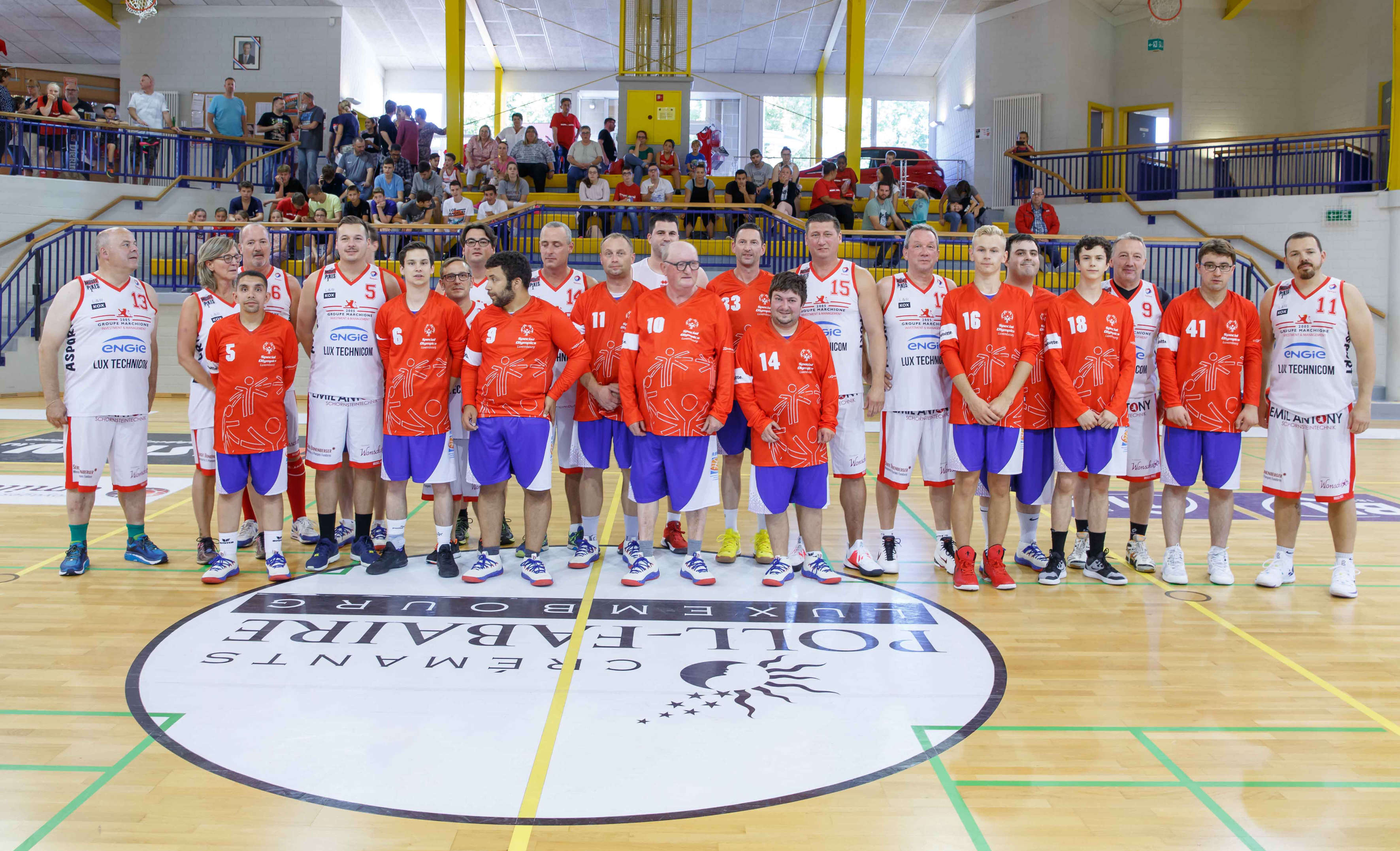 Pikes Promi-match vs Special Olympics um Season opening (14.09.19)