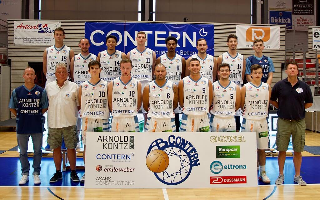 AB Contern  2019/2020 Men Team