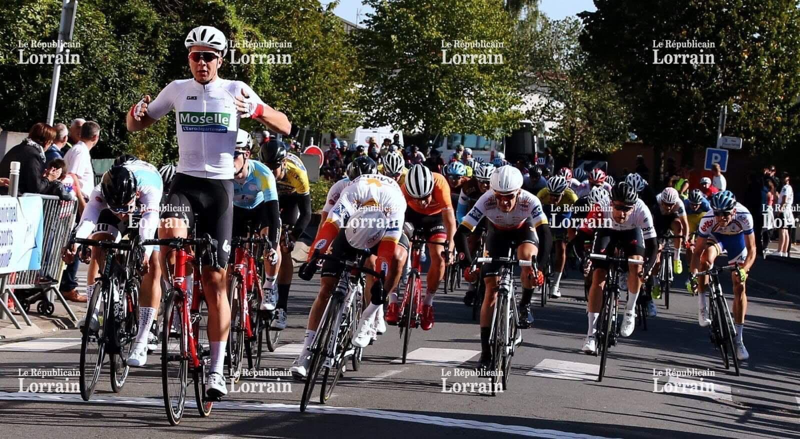 3. Platz vir de Colin Heiderscheid op der 2ter Etape am Tour de Moselle