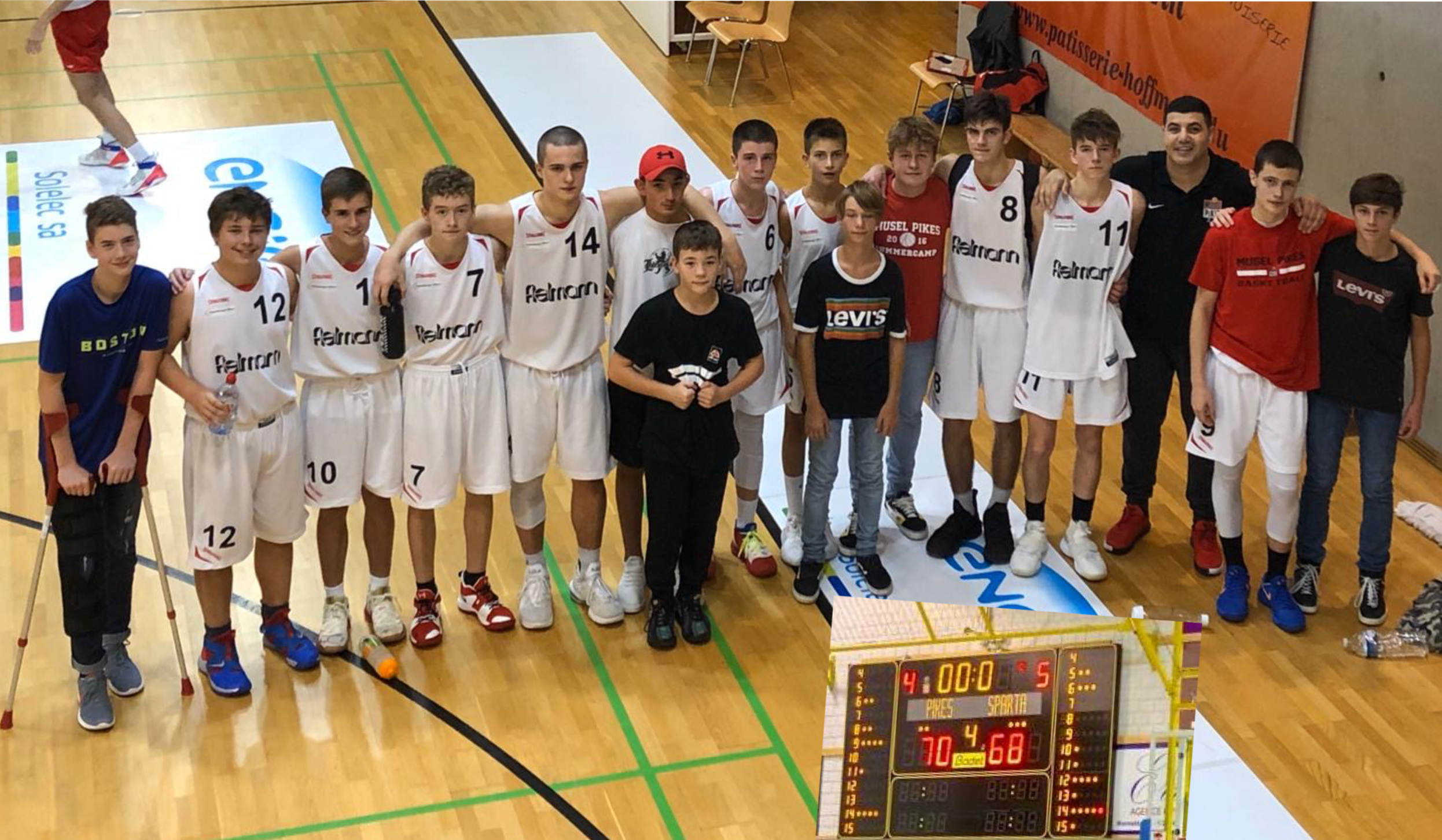 Pikes Scolaires-Sparta 70-68