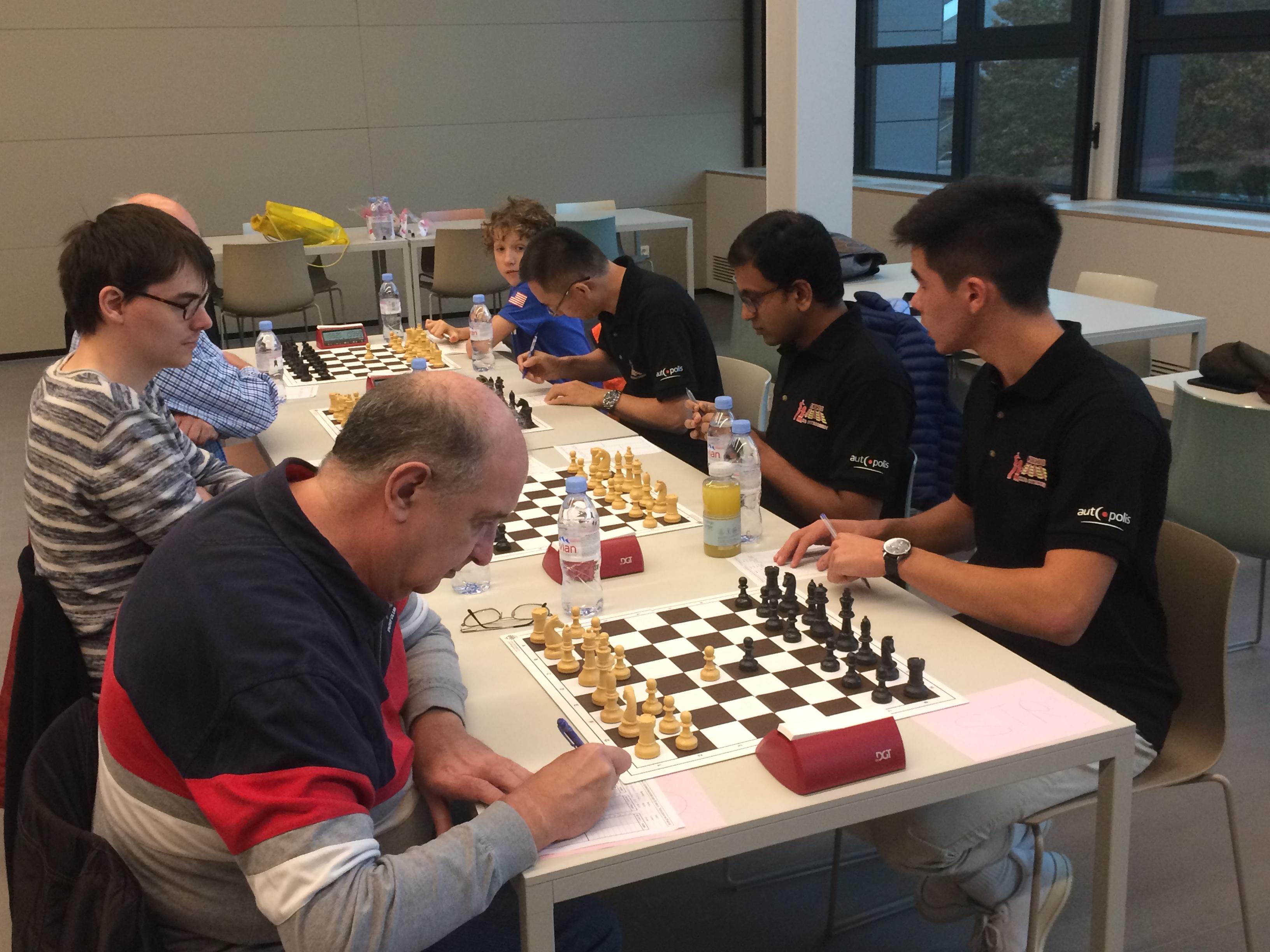 Chess: Strassen wins his 3rd match this season