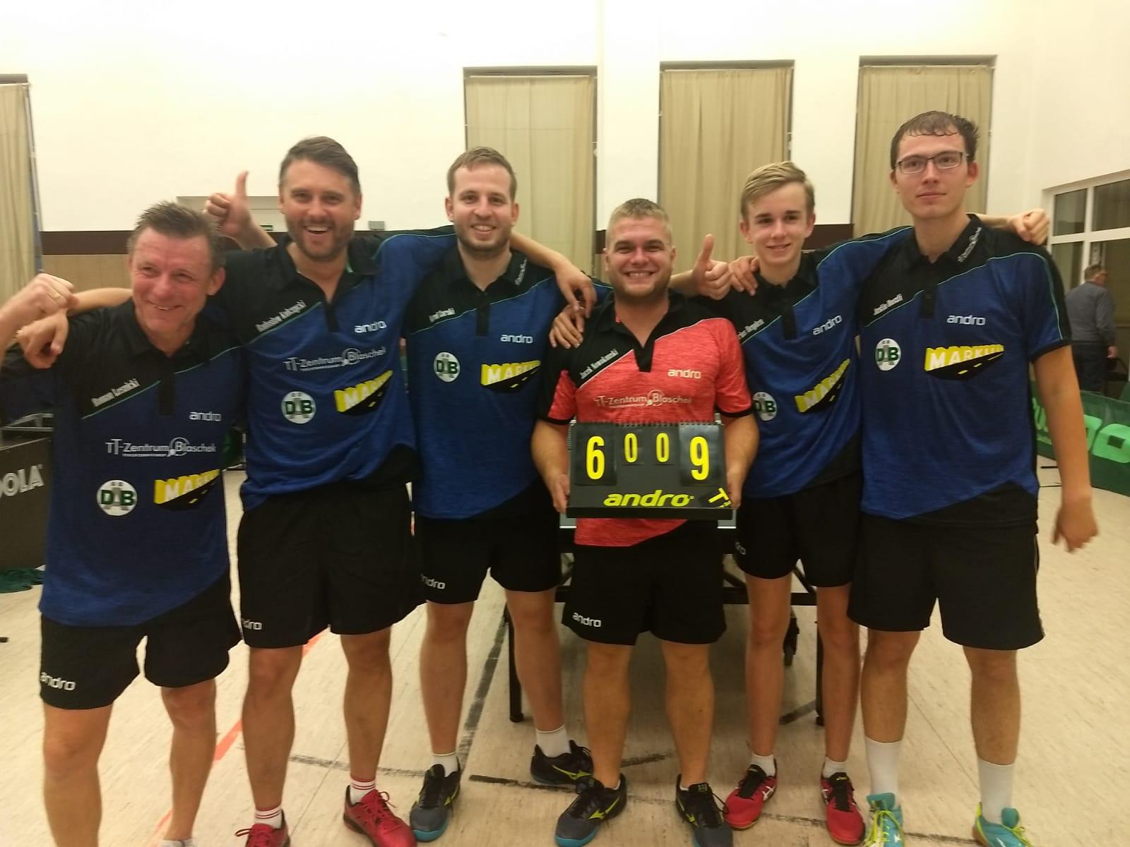 Erneueter Sieg in der Regionalliga gegen TTC Holzhausen mit 9:6