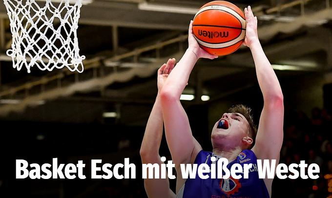 Basket Esch mit weißer Weste