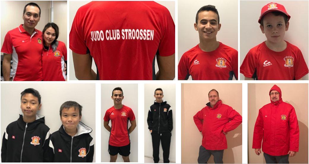 Neue Trainingsanzüge eingetroffen / new sport uniforms arrived / nouveaux survêtements sont arrivés