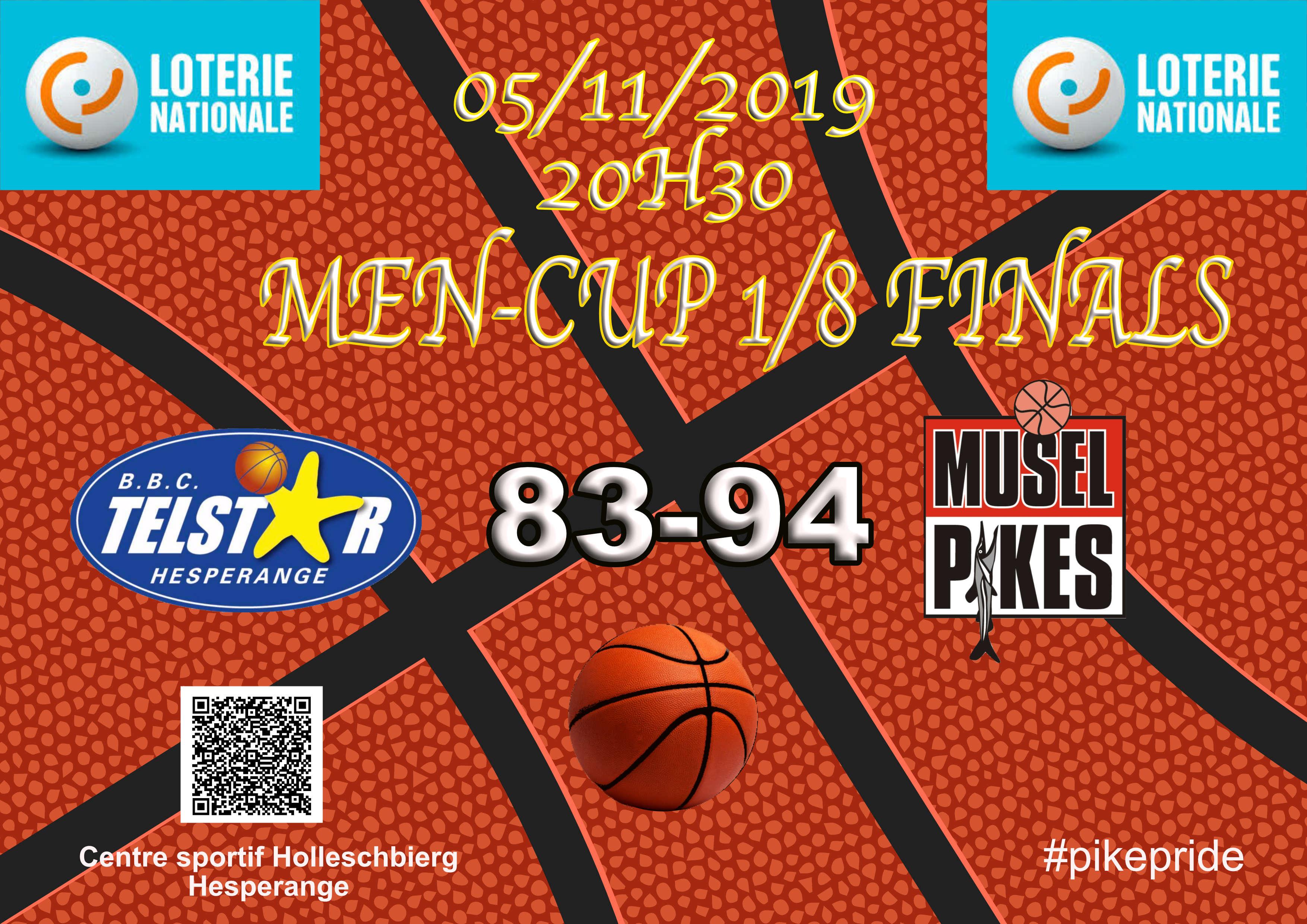 Men CUP 1/8 Finals