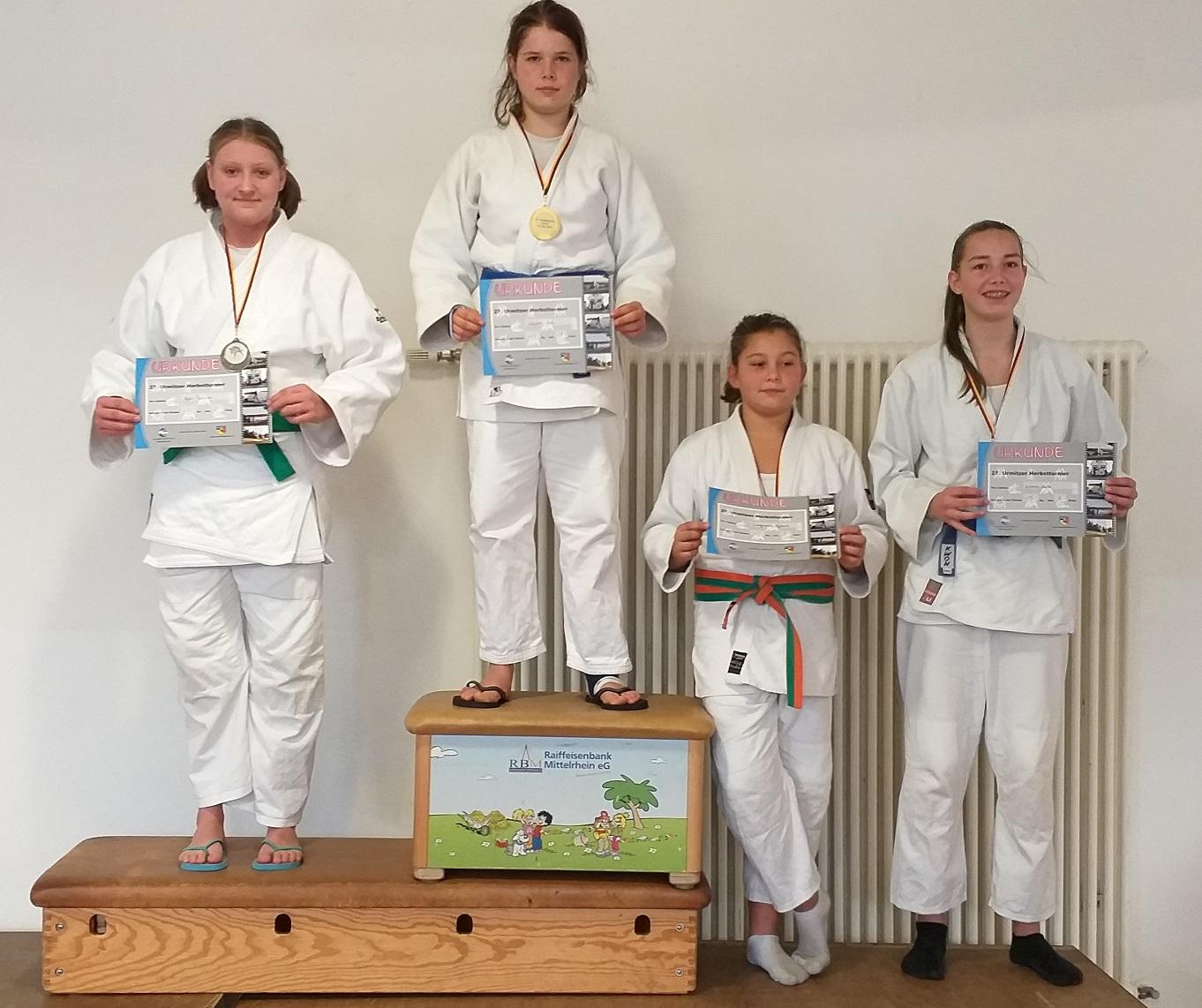 Uchtelfanger und Merziger Judoka erfolgreich beim Herbstpokalturnier in Urmitz