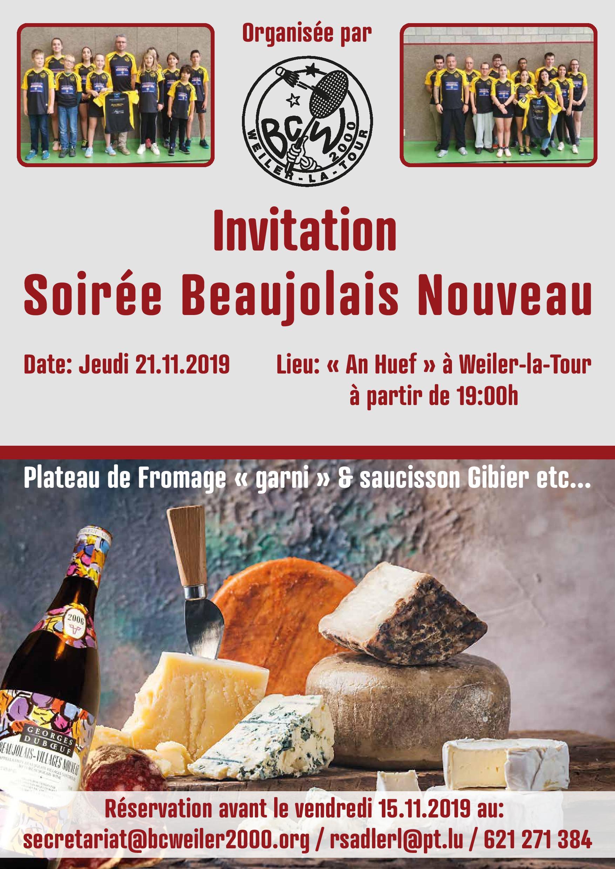 Soirèe Beaujolais