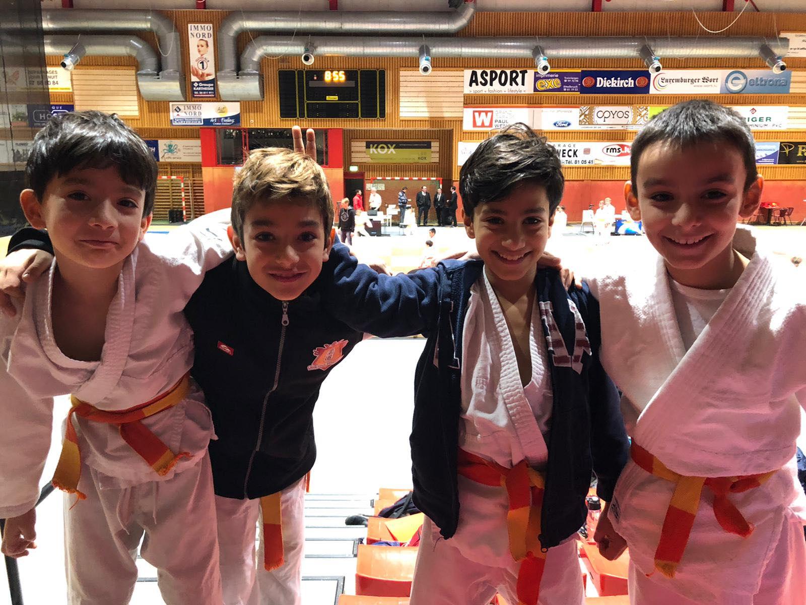 7 Goldmedailen um internationalen Turnéier zu Ettelbréck!
