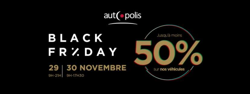 Black Friday at our partner Autopolis !!