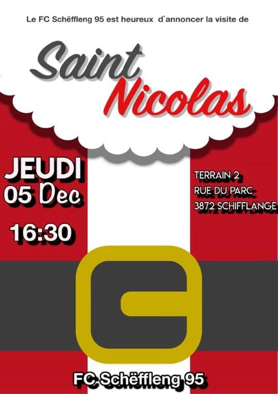 fête de Saint Nicolas à la buvette