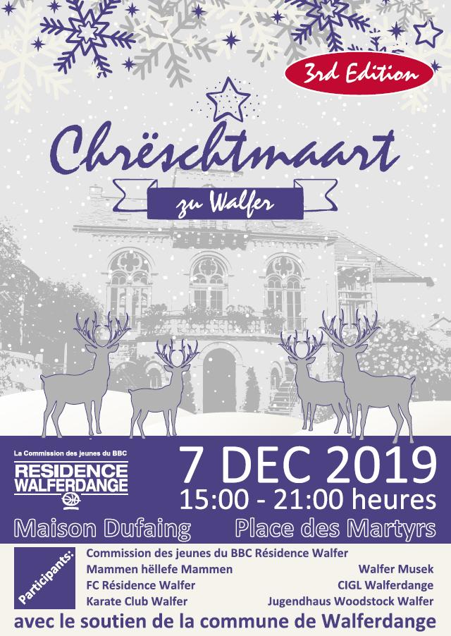 Chrëschtmaart vun der Walfer Gemeng & Sportsveräiner - 7.12.2019