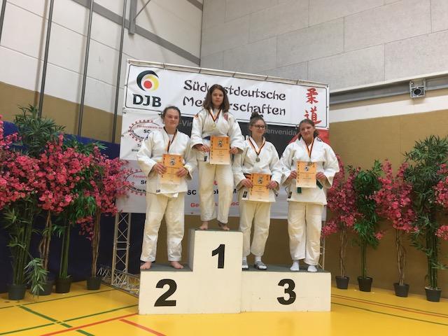 Ines Schiffler Südwestdeutsche Meisterin der Jugend U15
