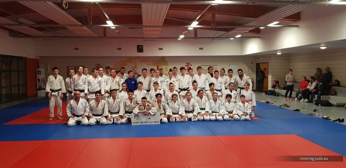 Interreg Judo Training 2019