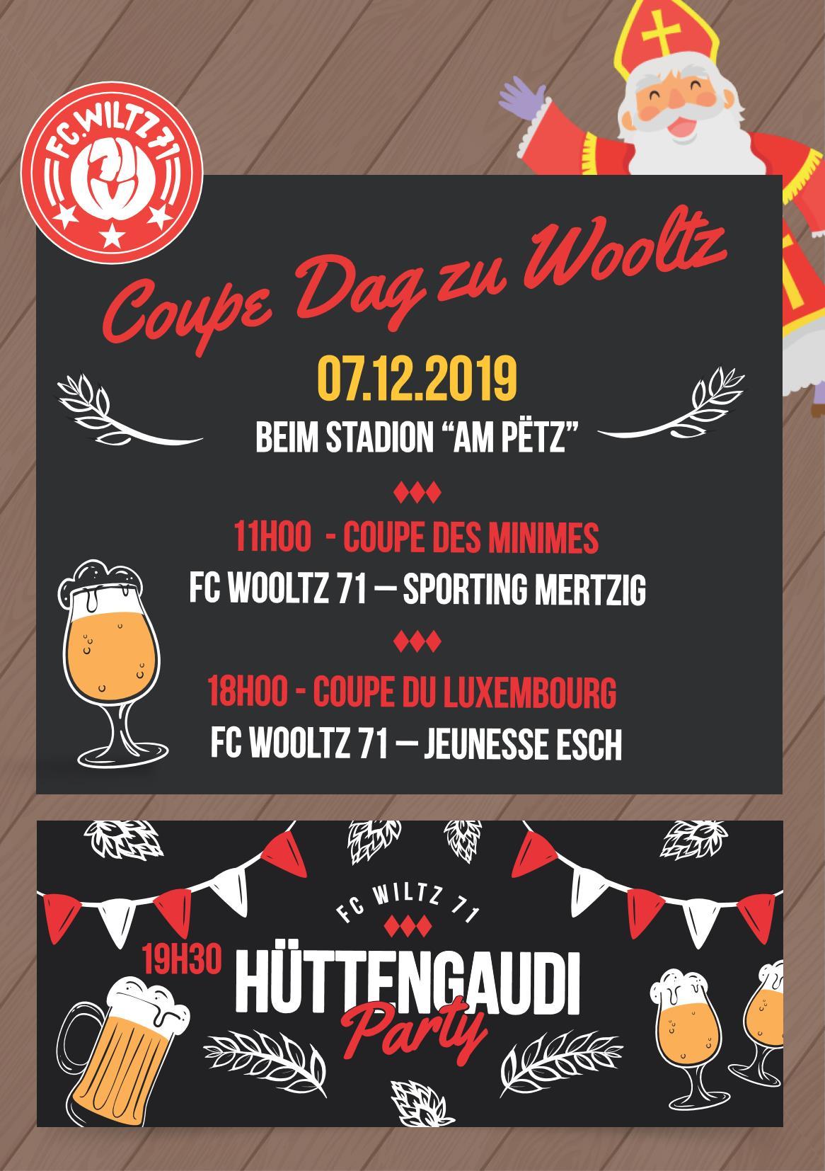 07/12/19 - Coupe Dag - Hüttengaudi Party