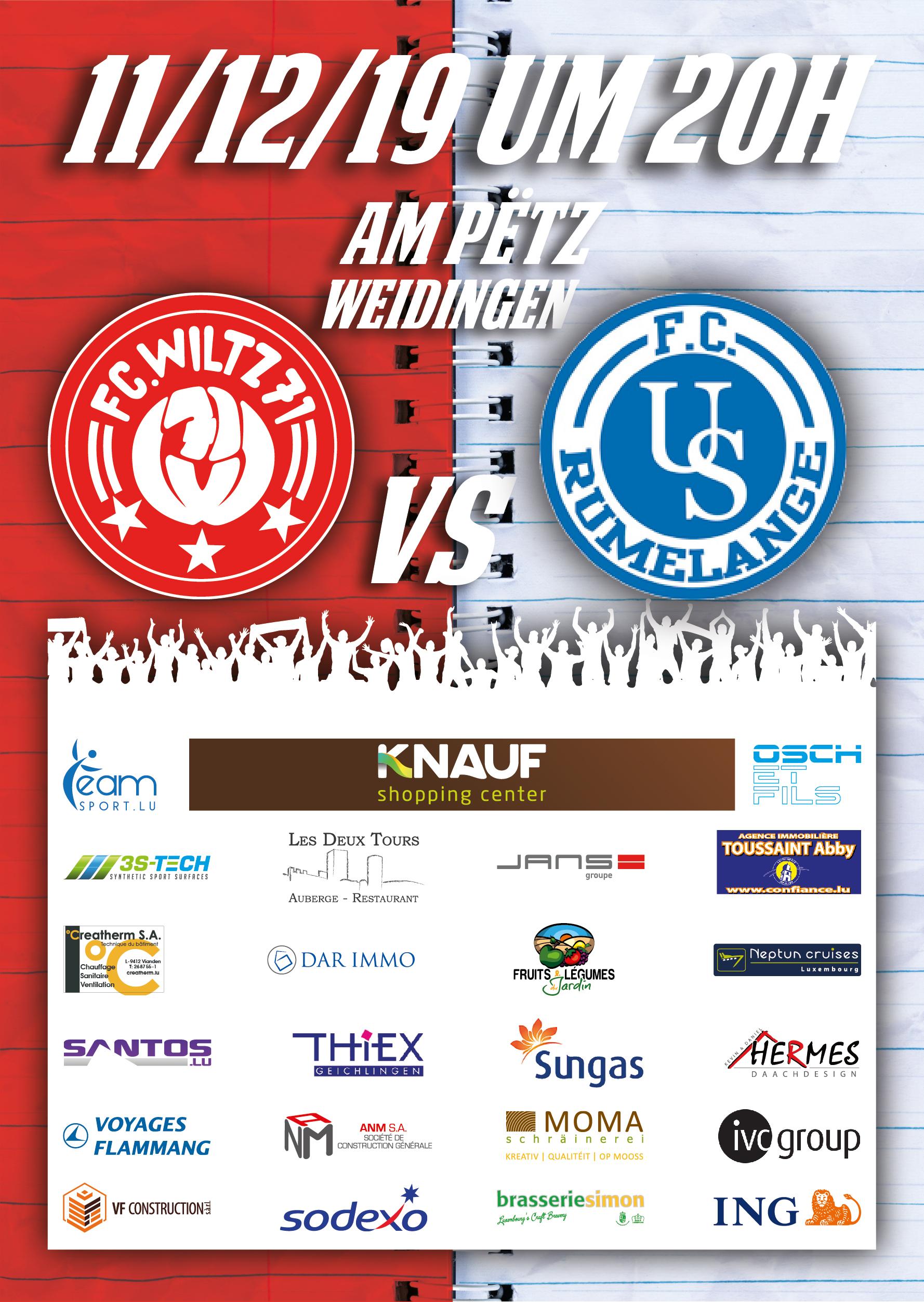 FC Wooltz 71 vs US Rëmeleng