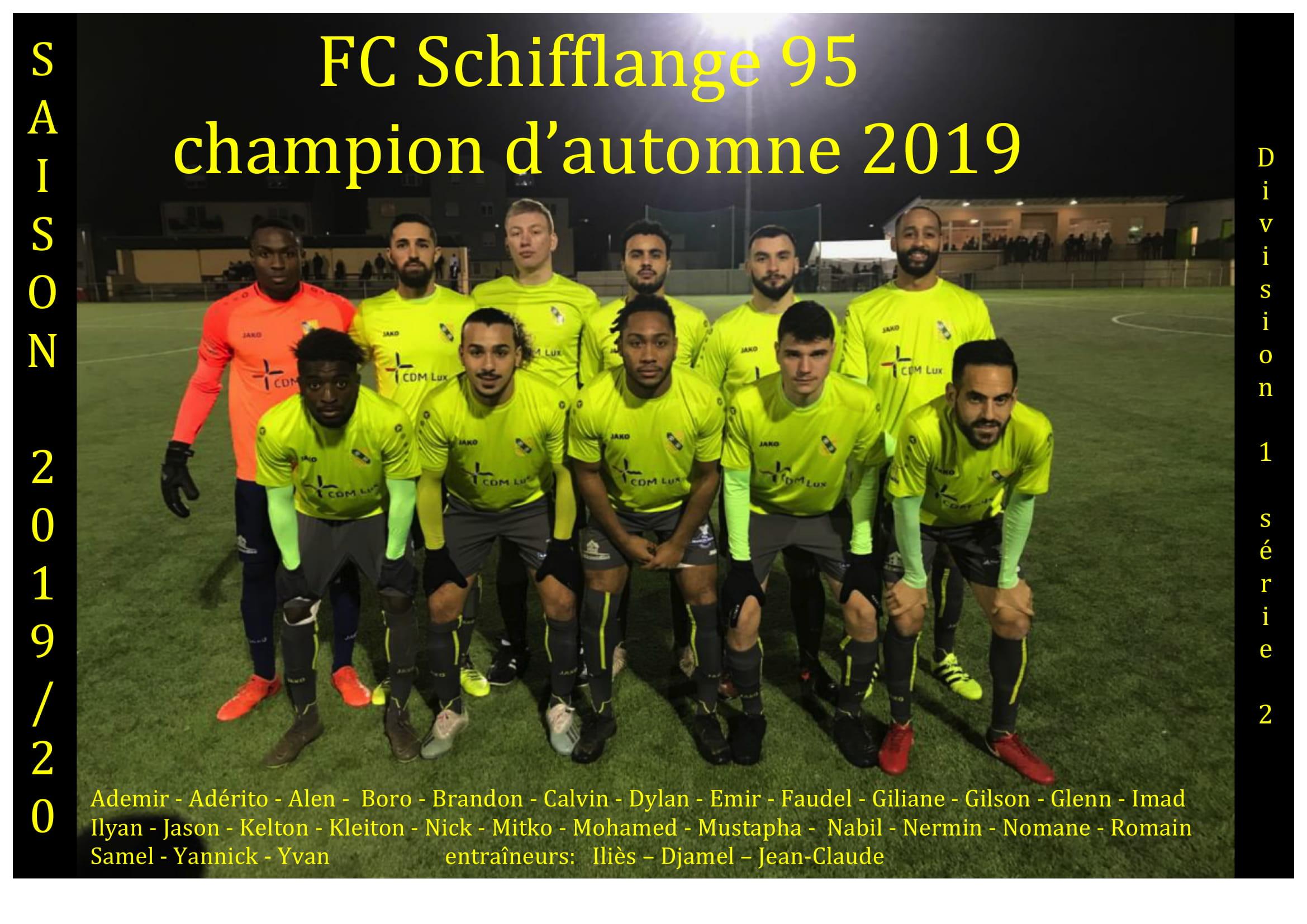 champion d'automne 2019