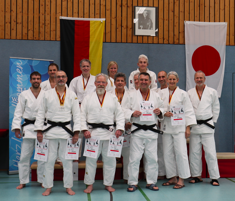 Interreg Judo Kata Team - Dieter Born Judo Kata Turnier 2019