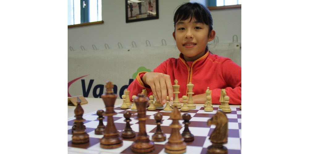 Article on Lucia Stoll: U10 winner in Diekirch
