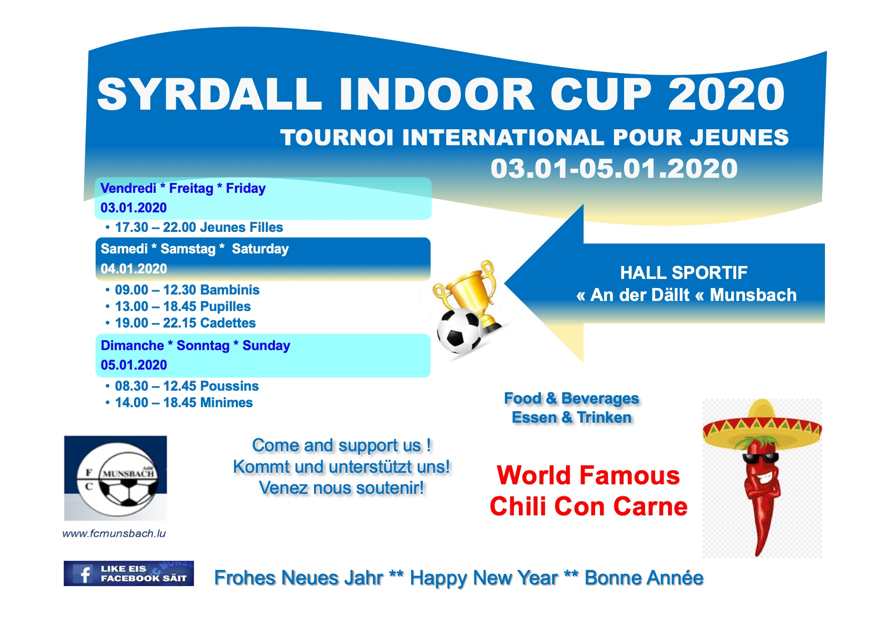 SYRDALL INDOOR CUP 2020