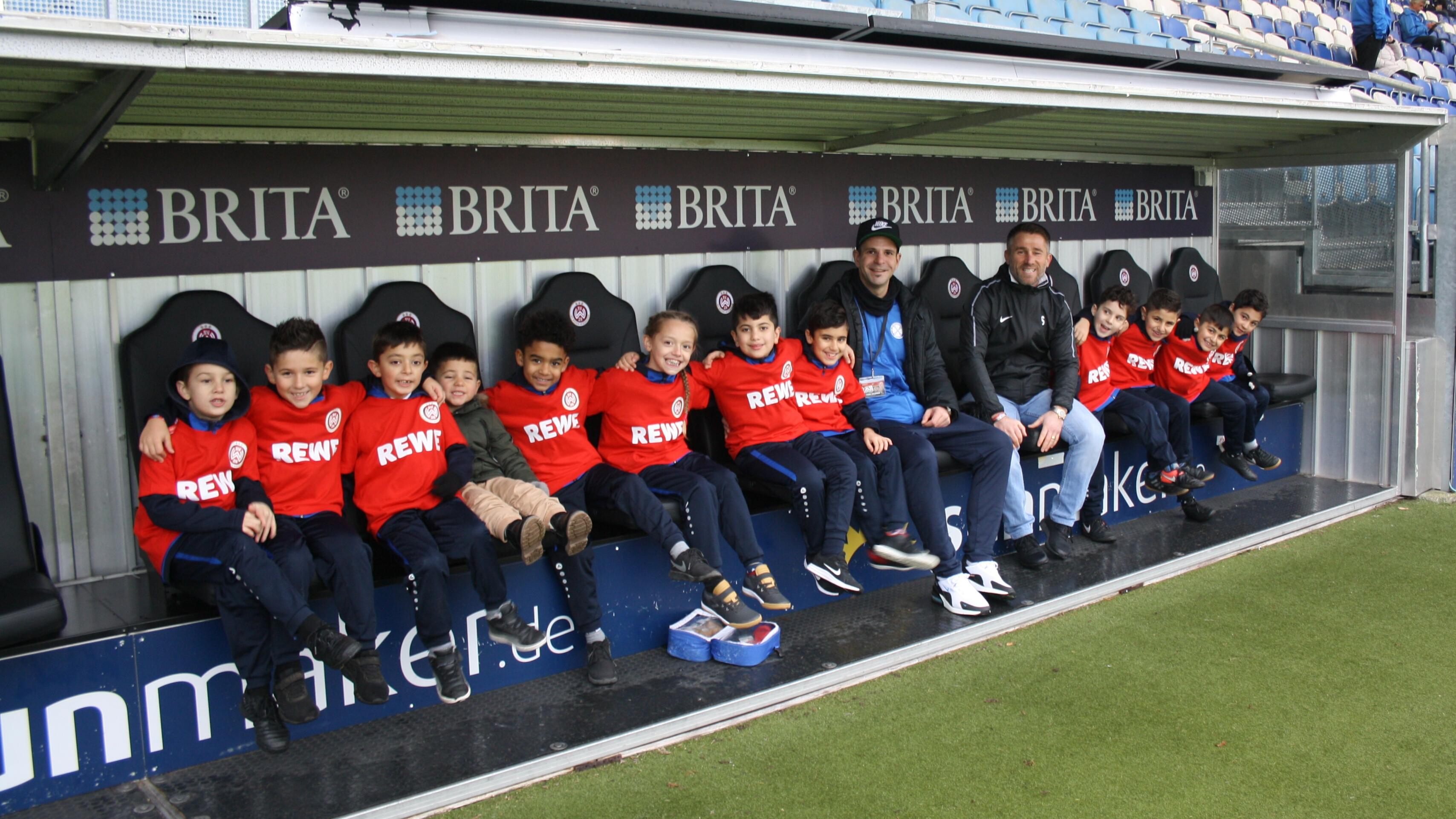 Unsere F-Jugend zu Gast beim SV Wehen Wiesbaden