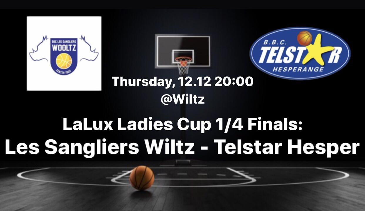 1/4 Final LaLux Ladies Cup