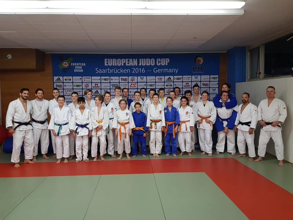 Interreg Judo Training - Saarbrücken 11.12.2019
