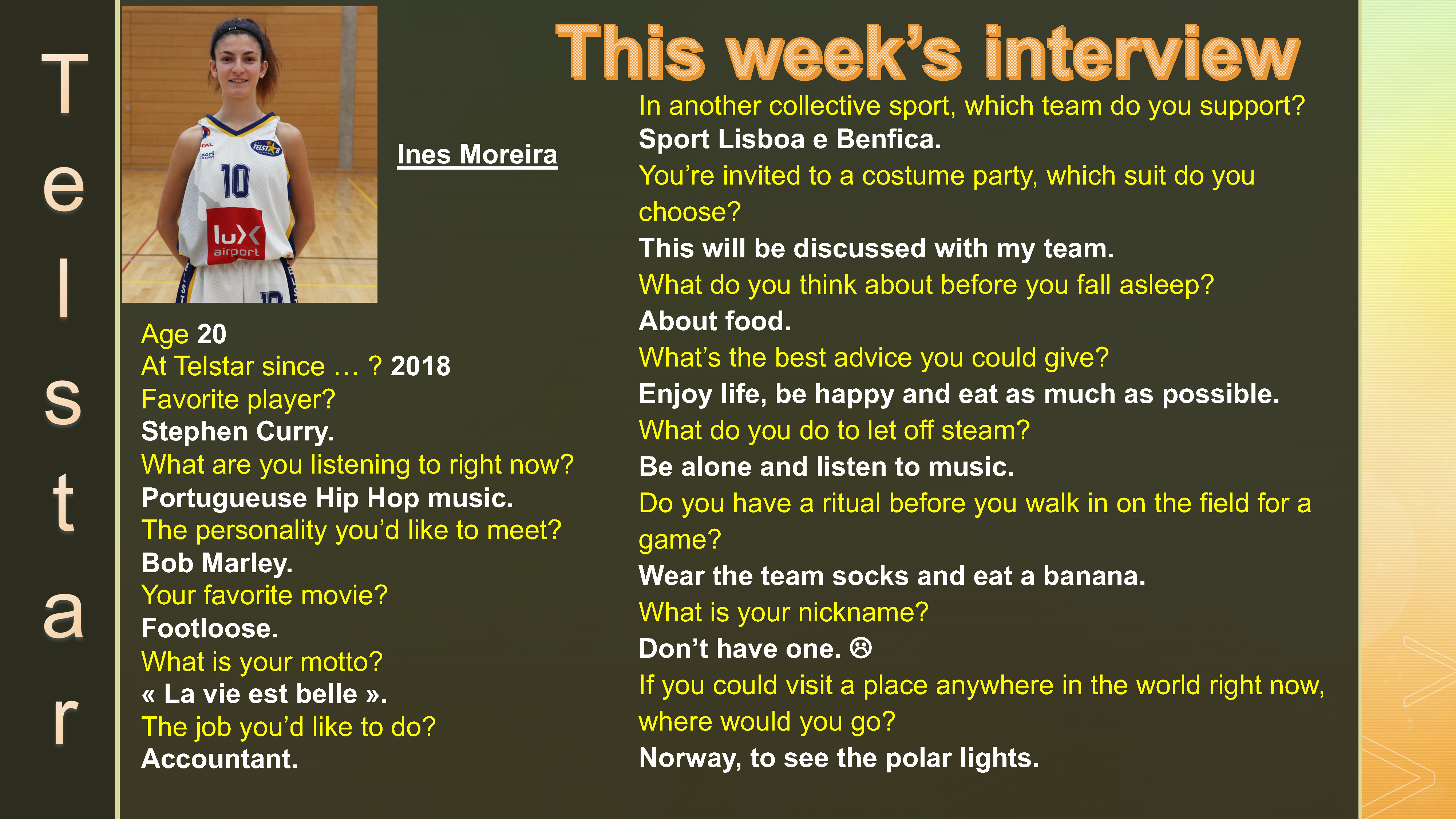 Interview of the Week #9