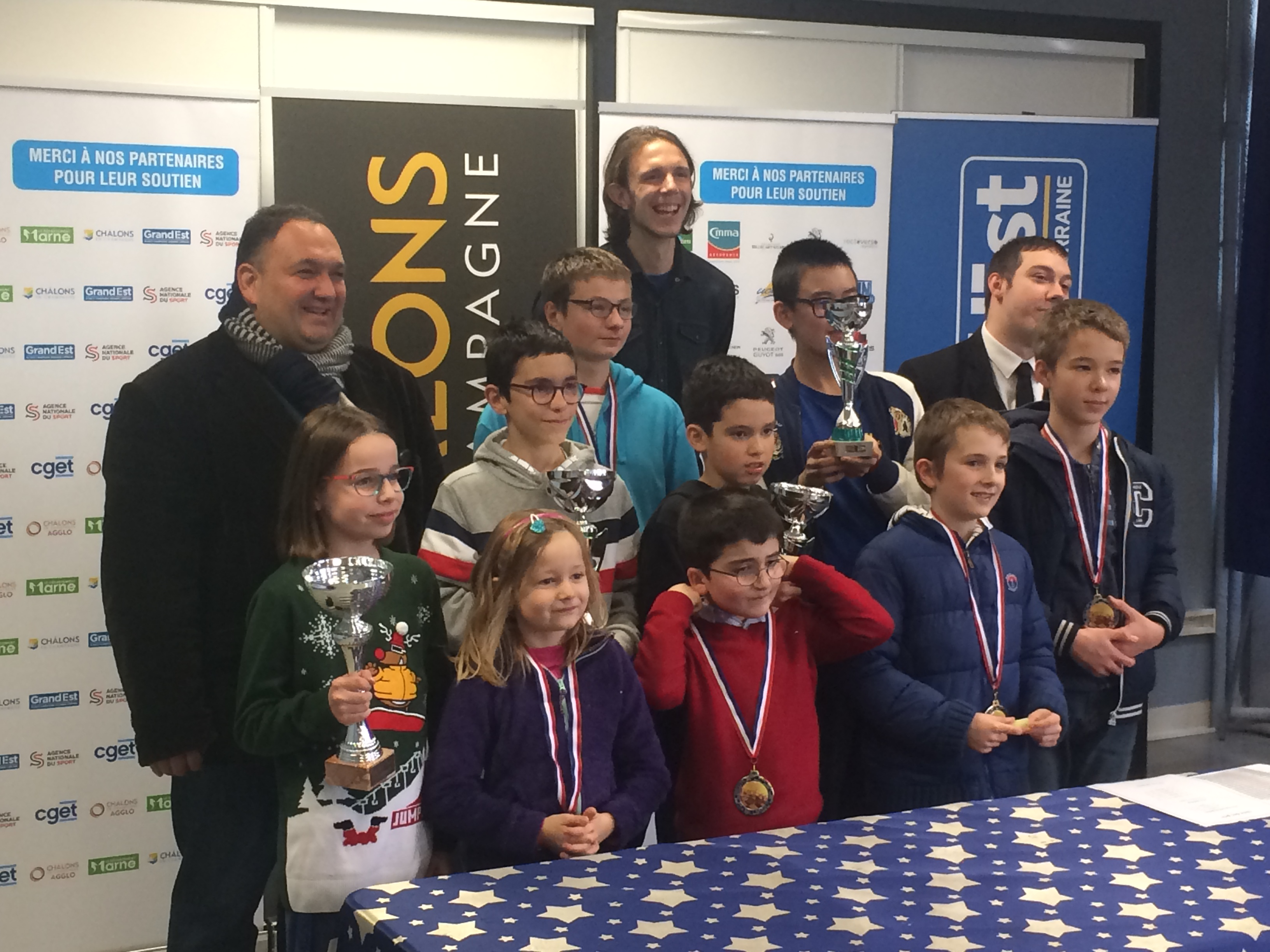 Chess results - Tournoi Chalons en Champagne (-1600) - 21-22 December 2019