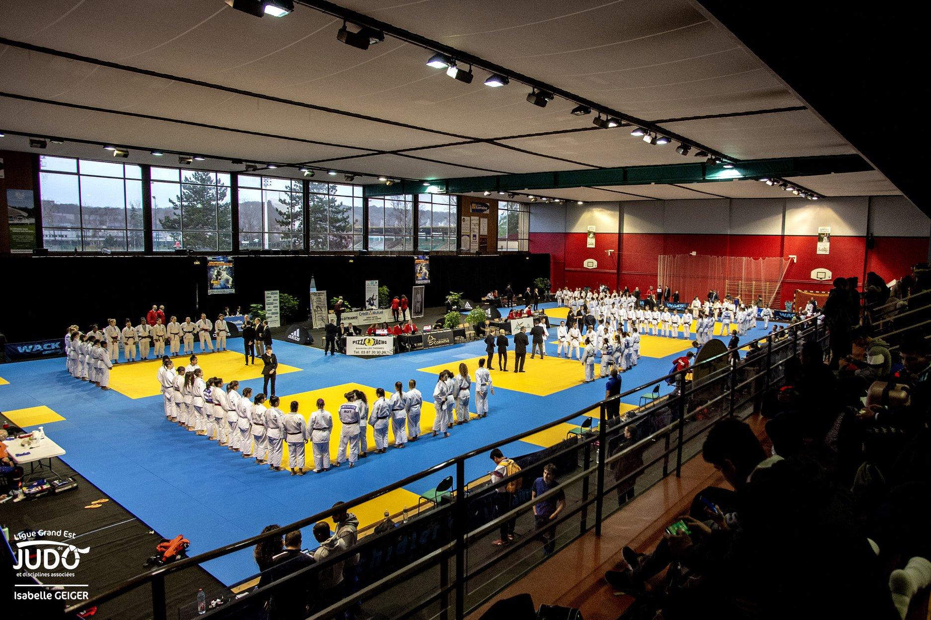 Interreg Judo Competition - Open International d'Amnéville 14-15.12.2019