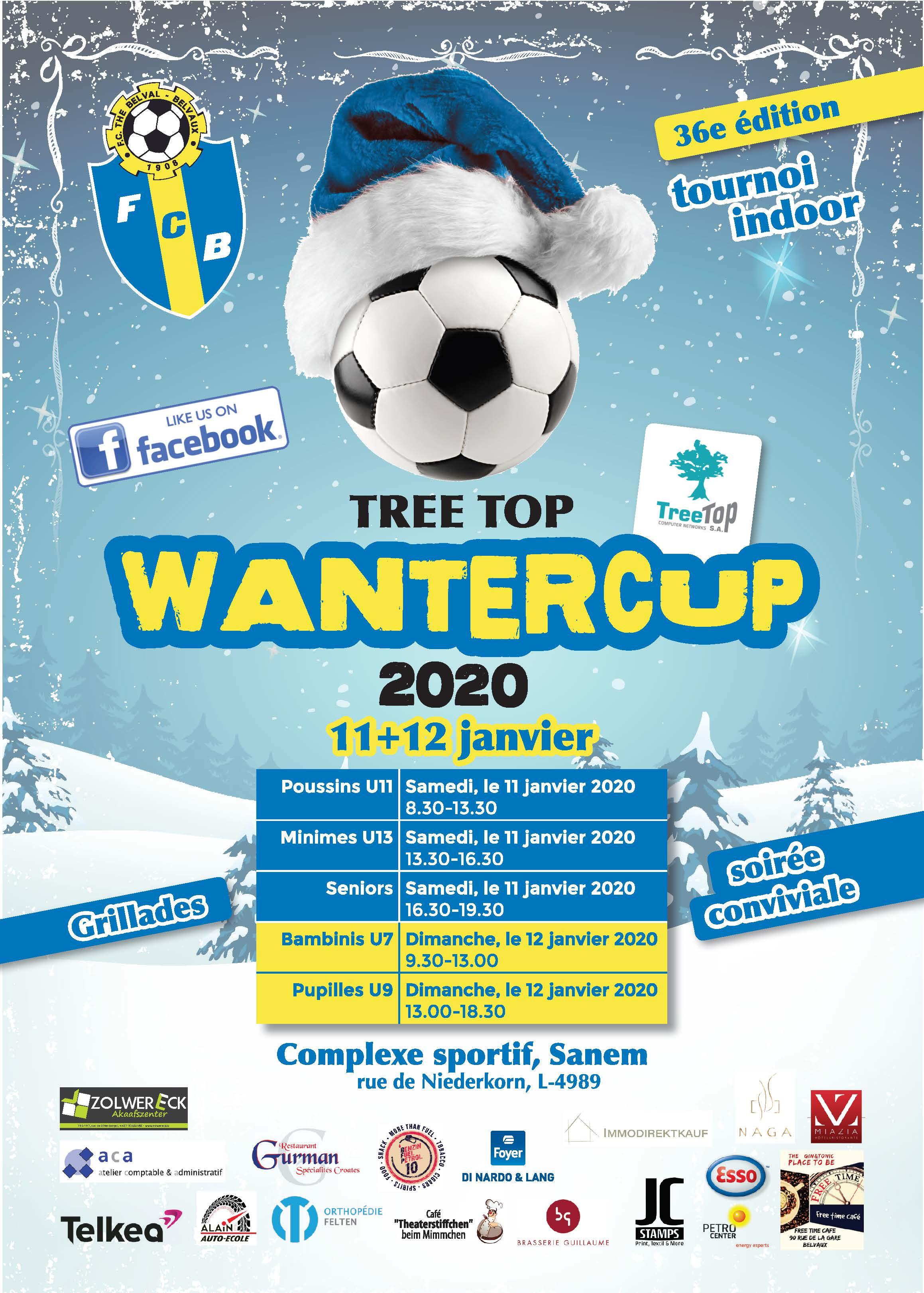 Programme du Wantercup 11.01+12.01.2020