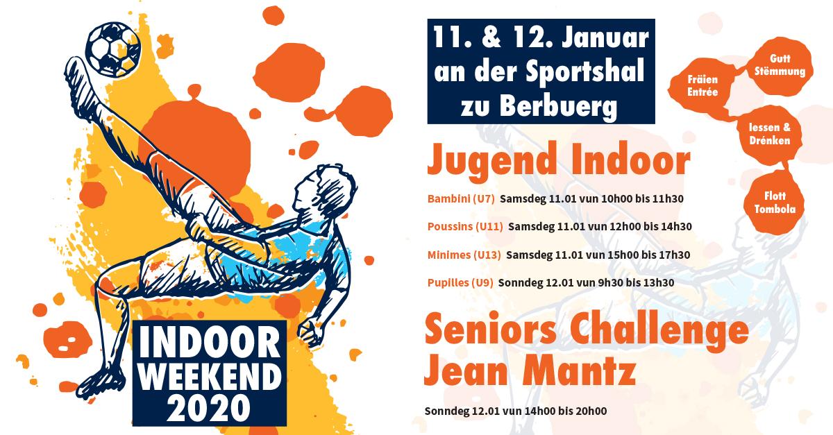 Indoor Weekend den 11. an 12. Januar zu Berbuerg
