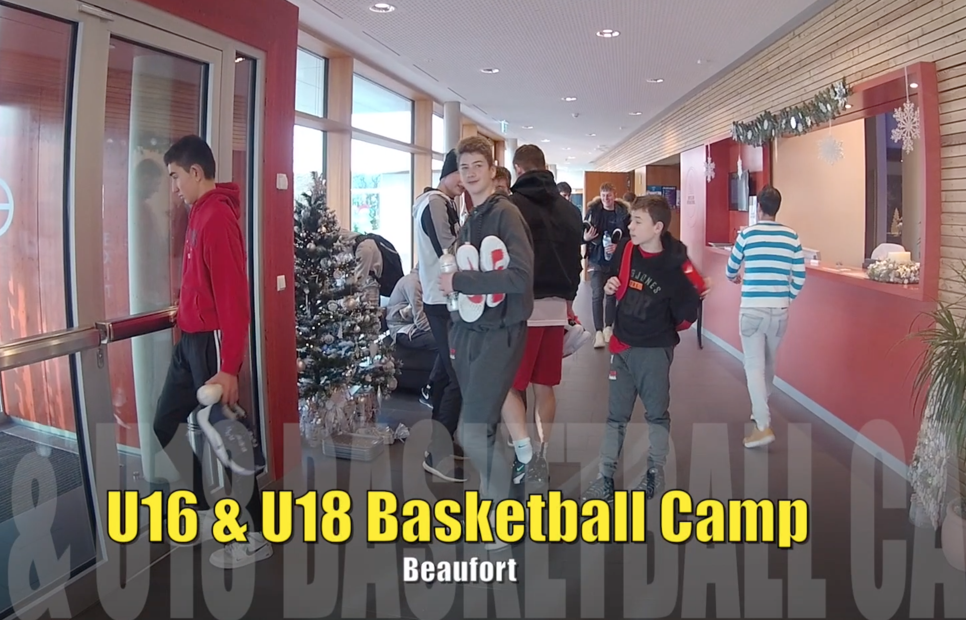 Pikes U16 & U18 Basketballcamp in Beaufort