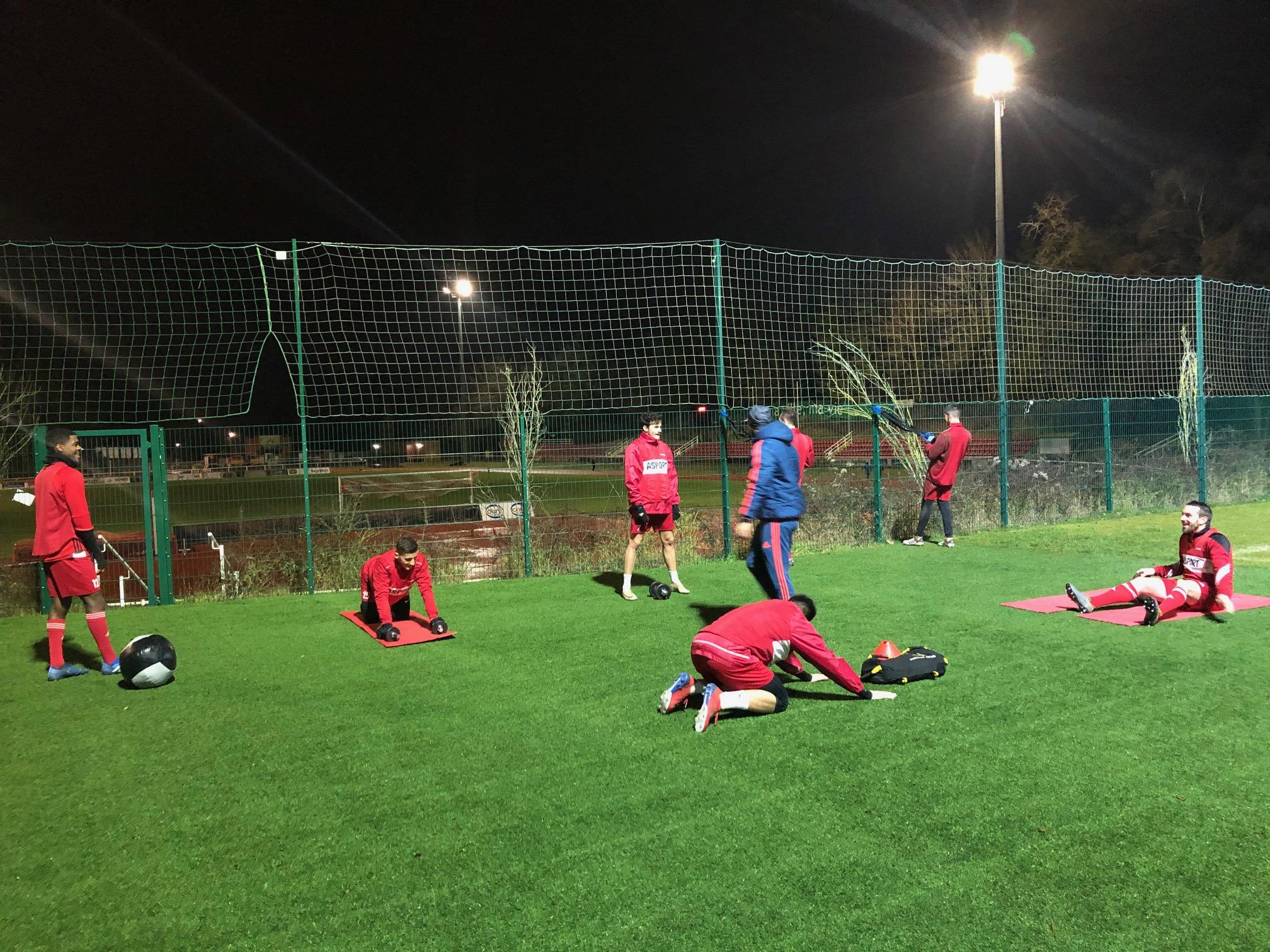 La reprise au CS FOLA Esch: 1e match prévu contre le FC Metz réserves le 18/01/2020