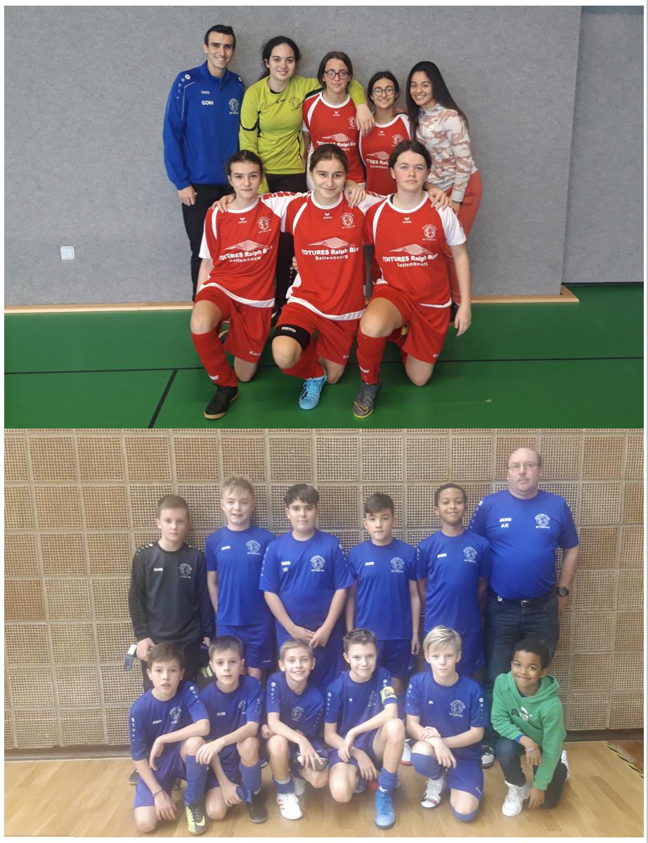 Futsal - Wee-End du 11/1 et 12/1/2020