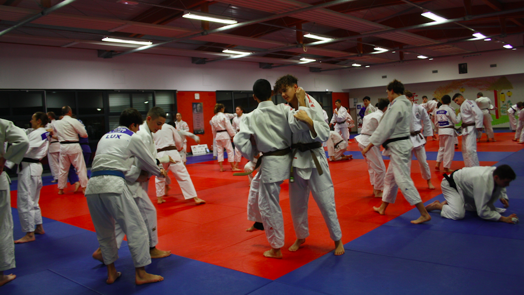 Interreg Judo Training - St. Julien-lès-Metz 09.01.2020