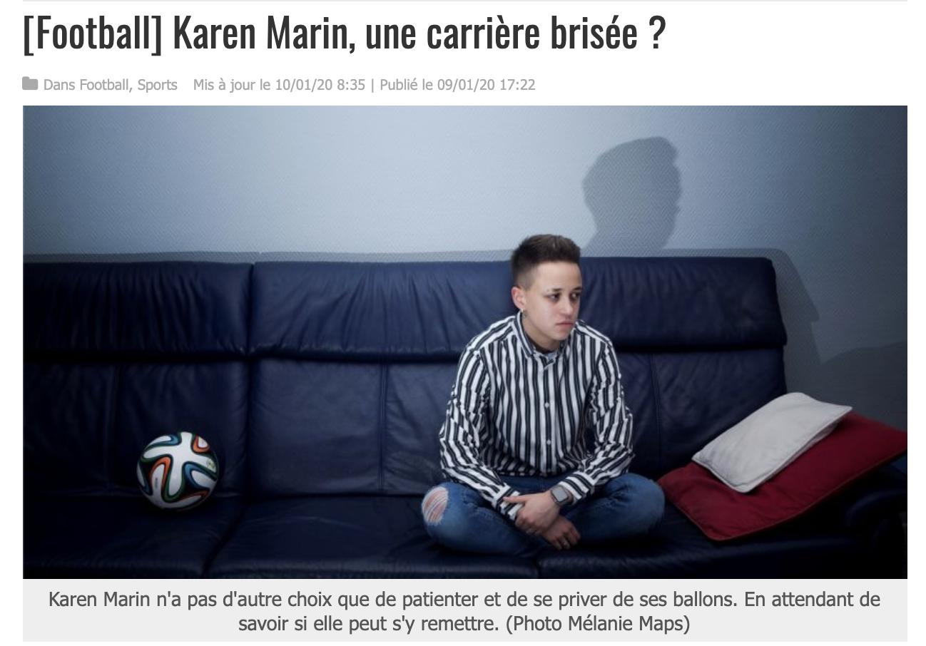 Karen Marin, une carrière brisée