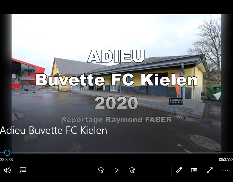 D'Buvette gëtt ofgerappt 13.1.2020