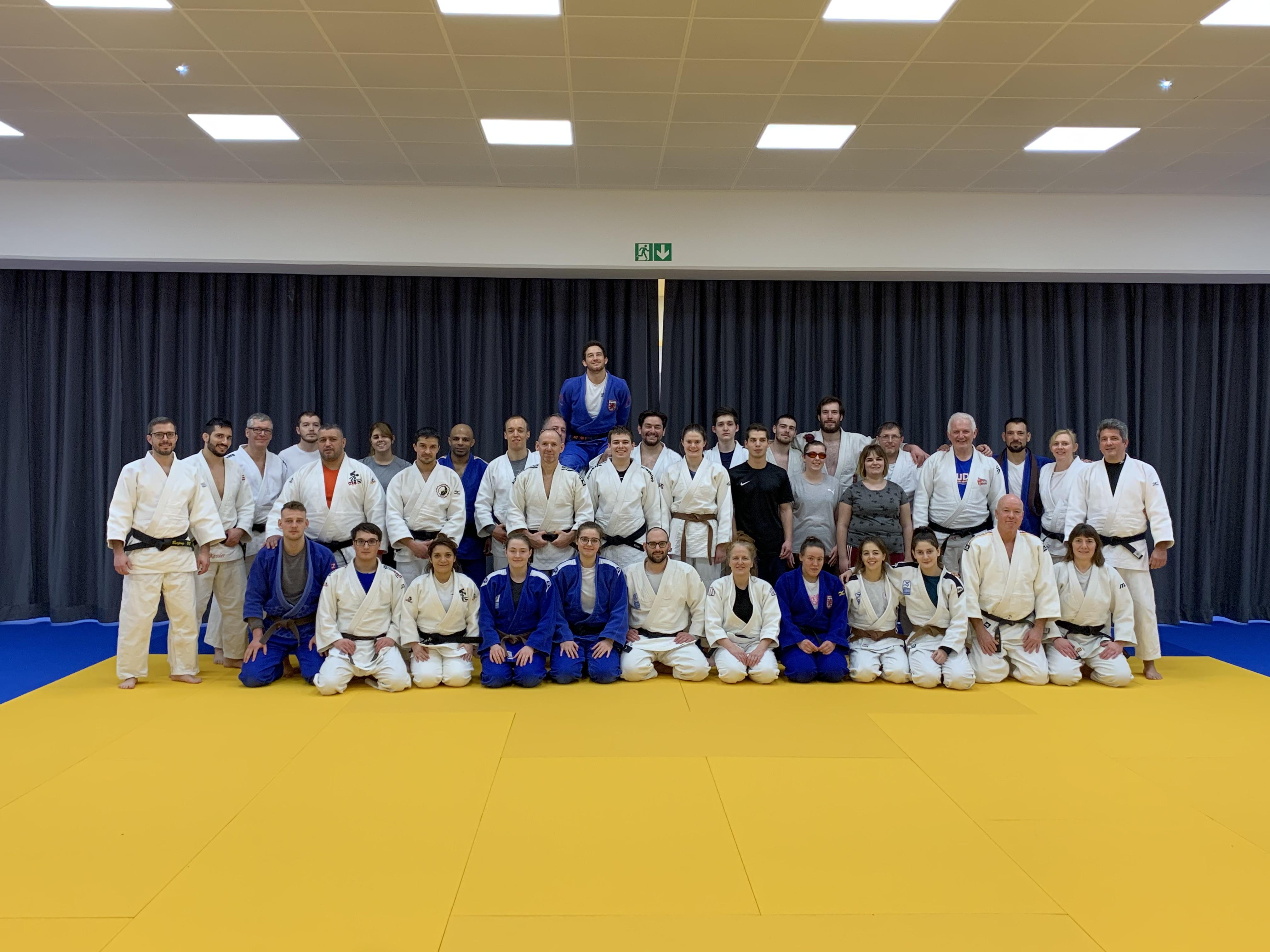 Interreg Judo Symposium LTAD - Luxembourg 17-19.01.2020