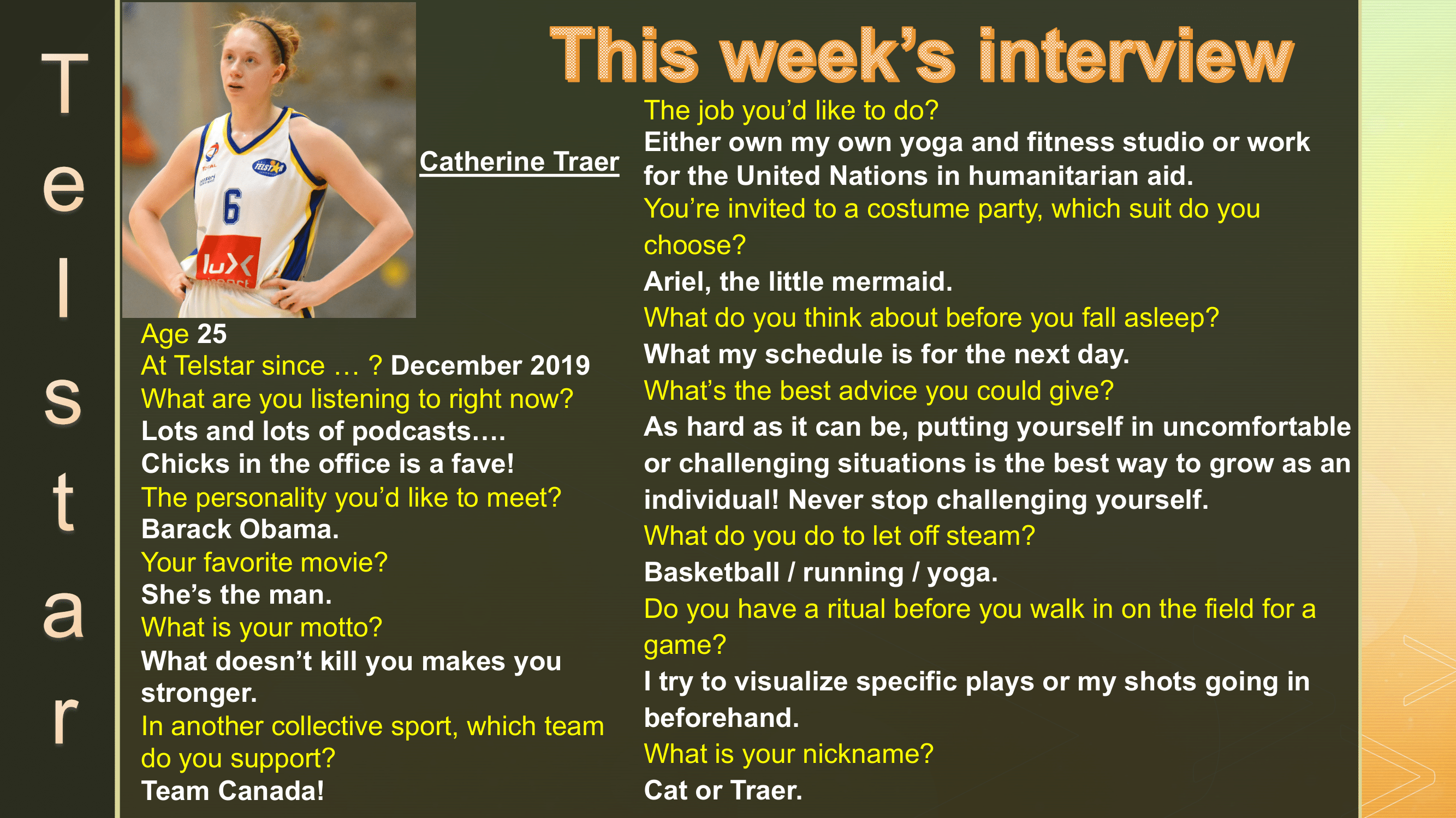 Interview of the Week #14