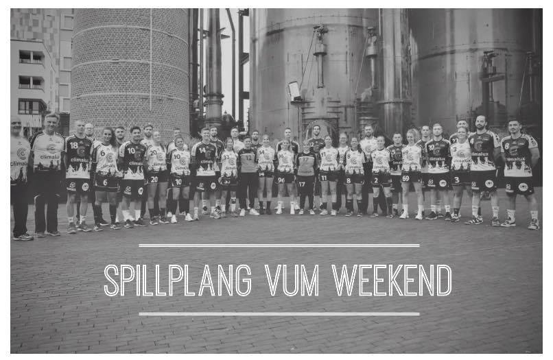 Spillplang vum Weekend (24.-26.01.2020)