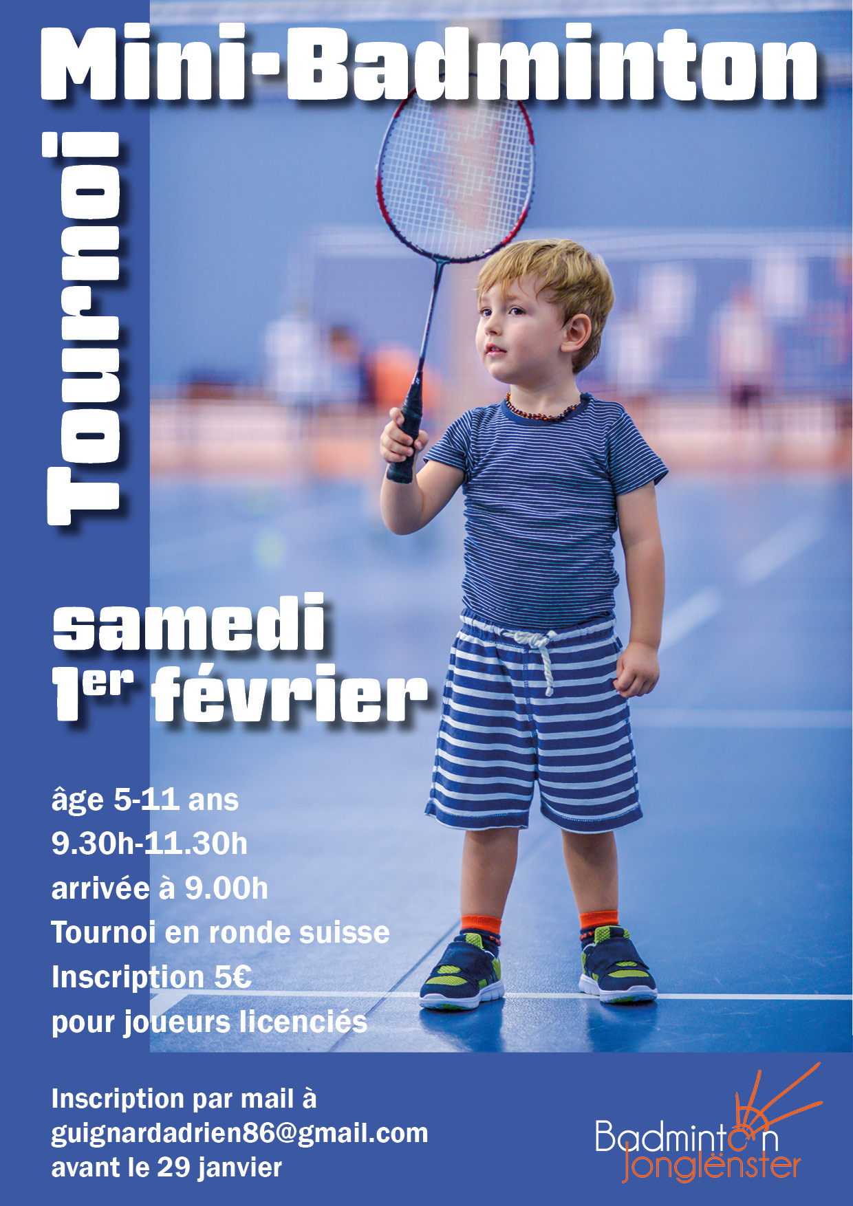 Tournoi Mini Badminton