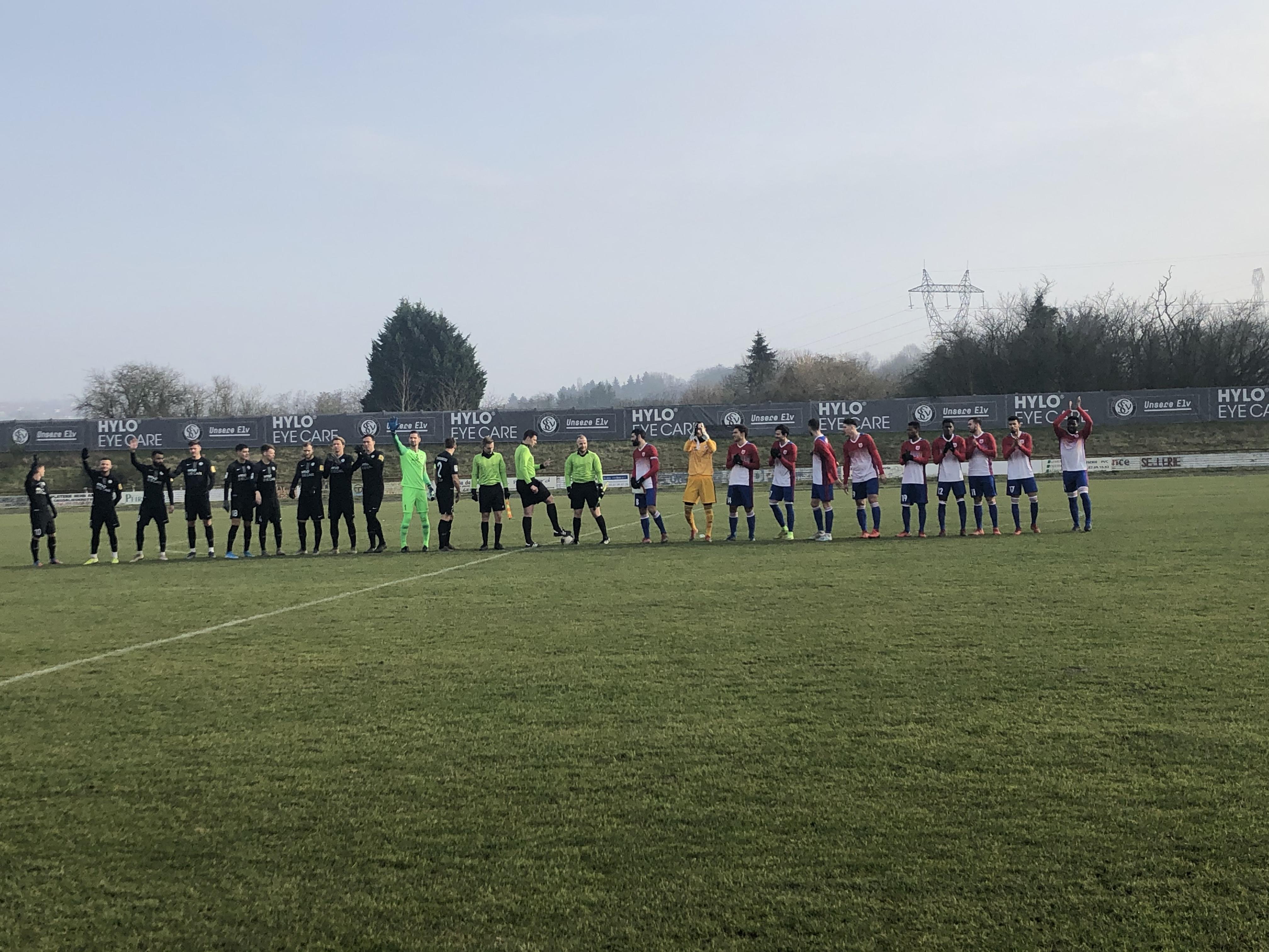 SV Elversberg - CS FOLA 5-0