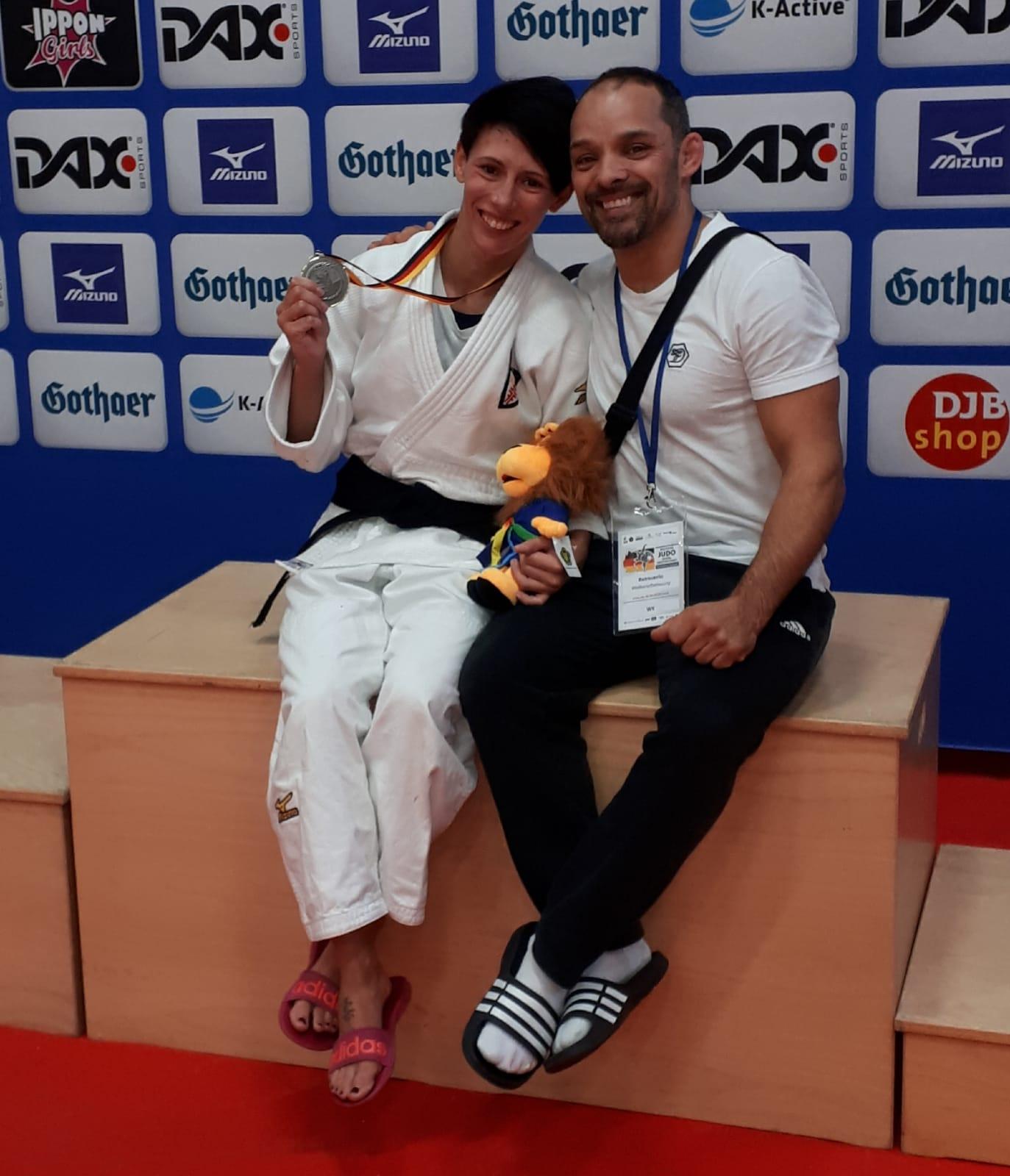 Jessica Linder neue Vize-Deutsche Meisterin -48 kg