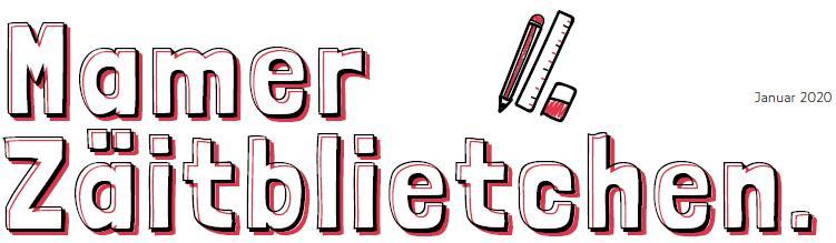Mamer Zäitbliedchen - Nr 1 - Januar 2020