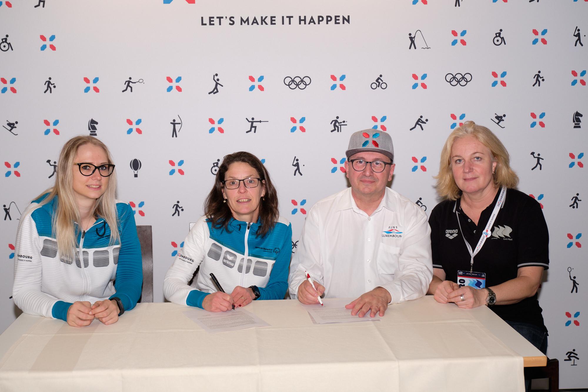 Um EuroMeet 2020 huet FLNS e Partenariat mat Special Olympics ennerschriwen. E grousse Merci fir dei Ennerstetzung