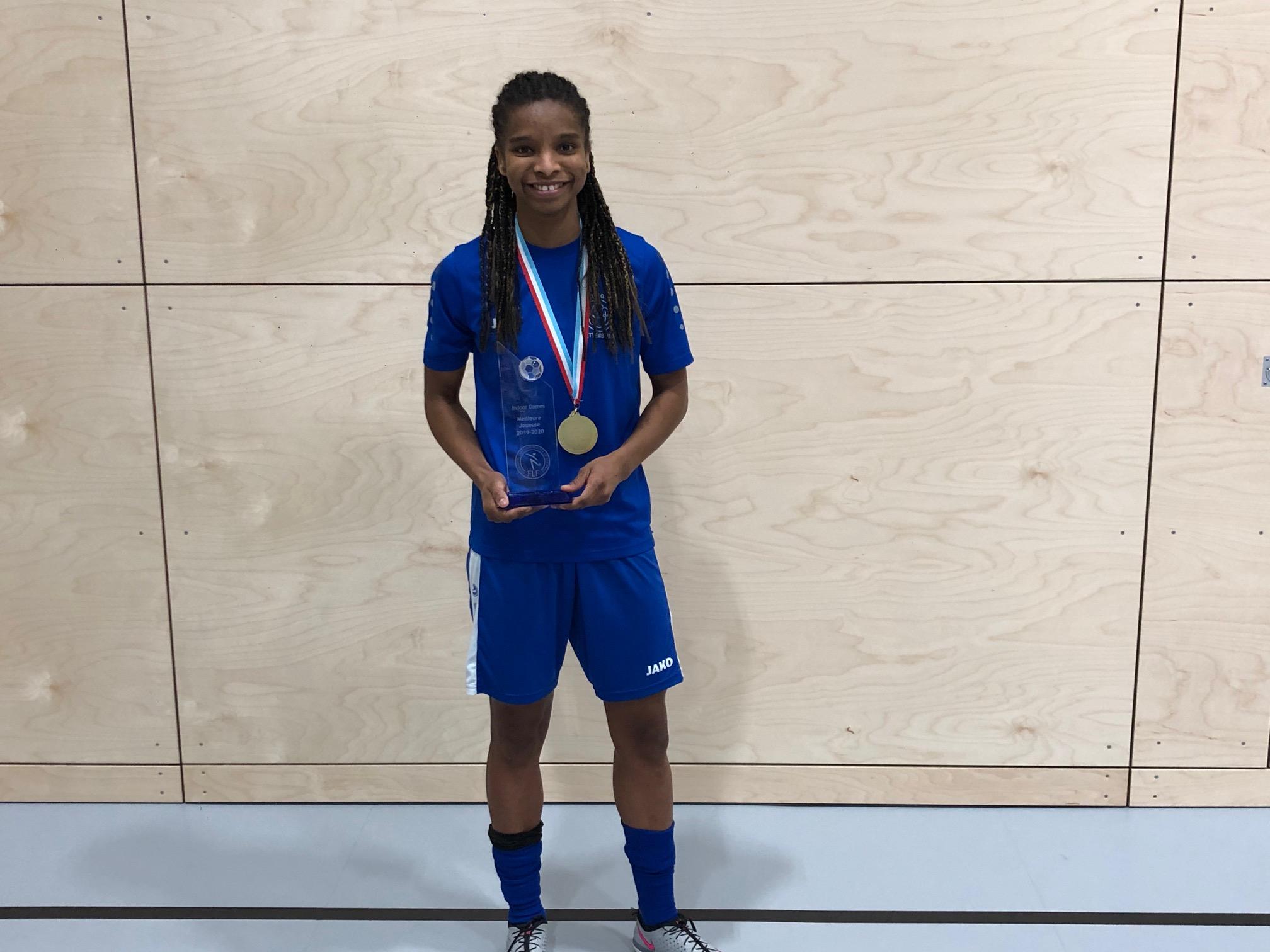 Sadine CORREIA élue meilleure joueuse
