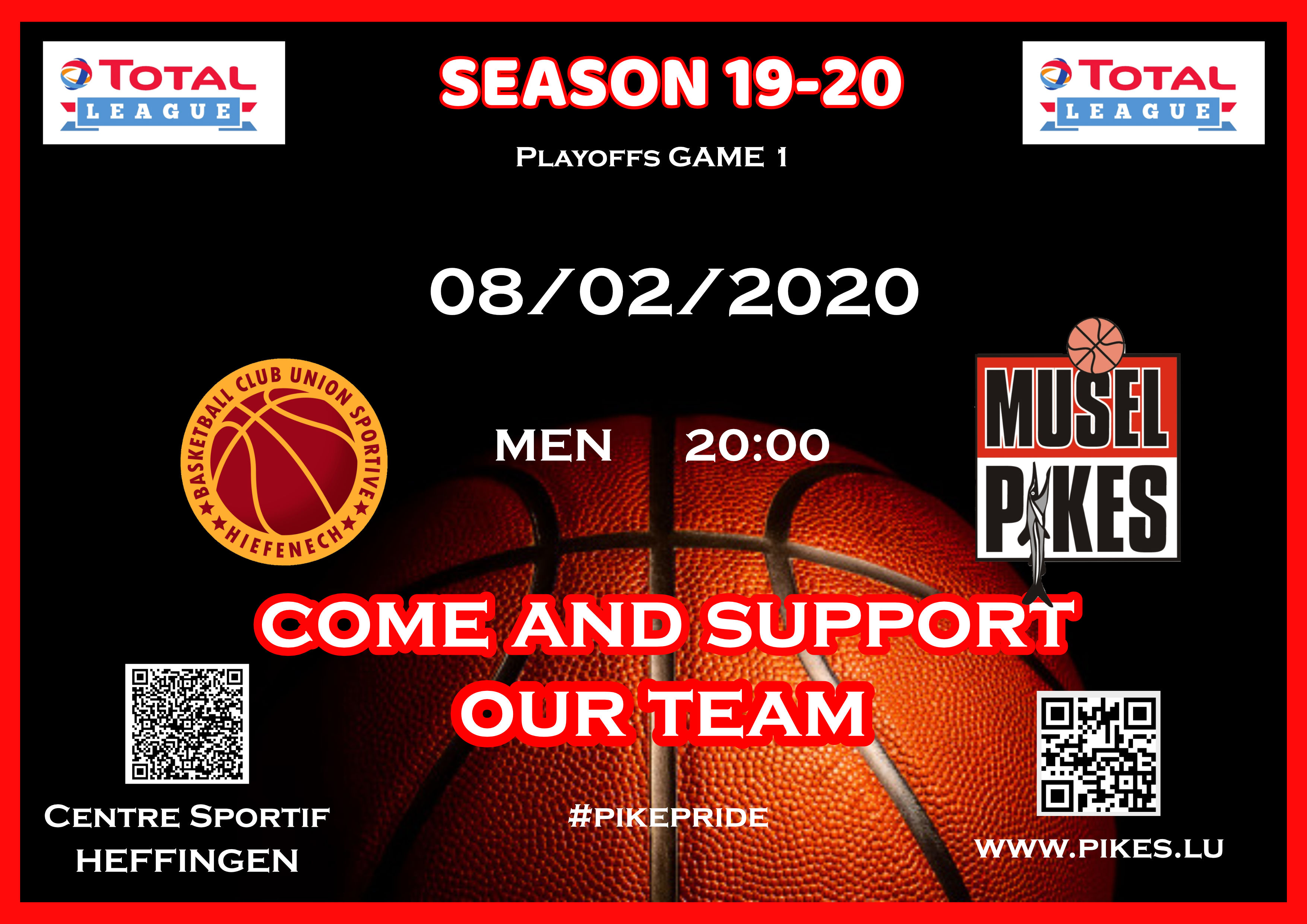 Men Playoffs game 1